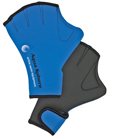 #4. Aqua-Sphere Webbed Swim Gloves