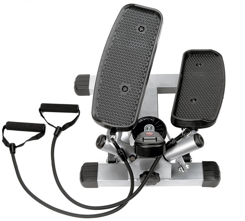 #1. Sunny Fitness and Health Twister Stepper