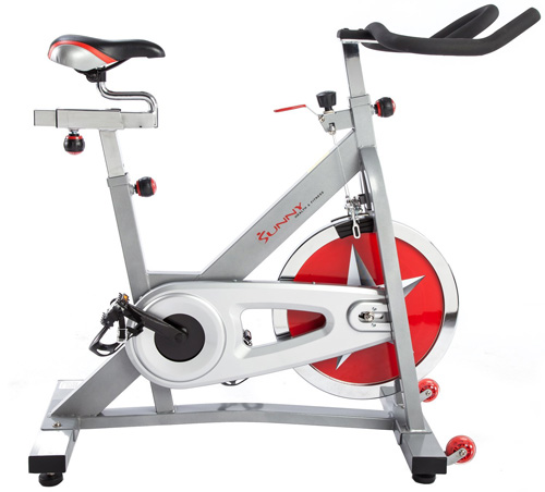 #4. Sunny Health and Fitness Pro Indoor Cycling Bike