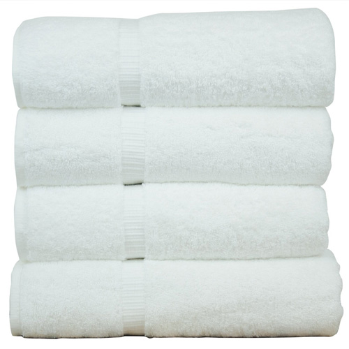 #4. Luxury Hotel & Spa Bath Towel, Set of 4