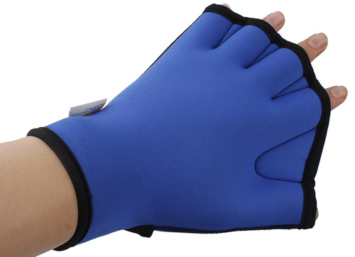 #3. InnoGear Aqua Fit Swim Gloves