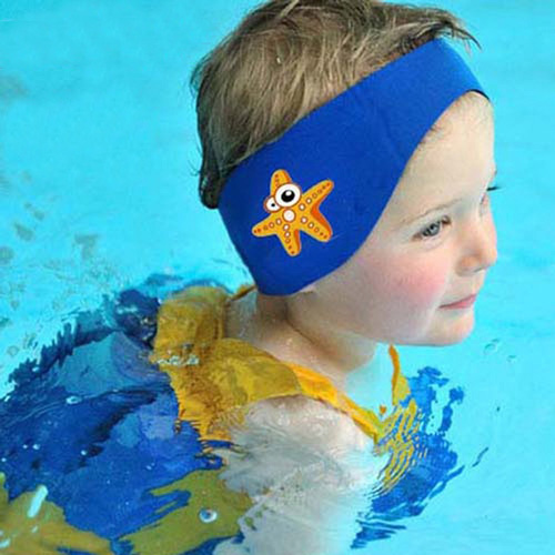 #5. TANZKY Swimming Headband