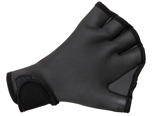 #2. Flammi Aqua Fit Swim Gloves