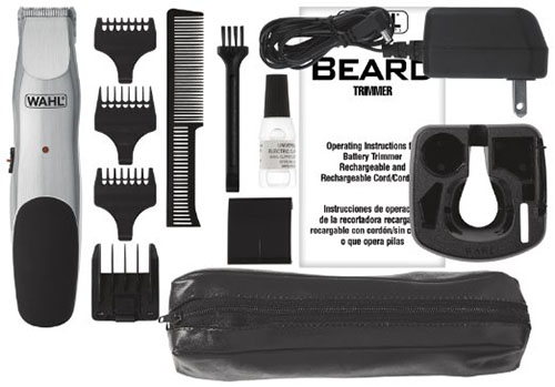 #4.Wahl Beard Cord/Cordless Rechargeable Trimmer