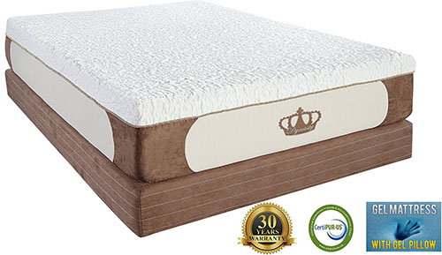 4. DynastyMattress Cool Breeze Mattress