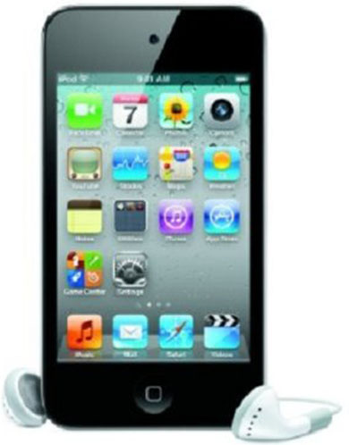#5. Apple iPod touch 8 GB Black (4th Gen) (Discontinued by Manufacturer)