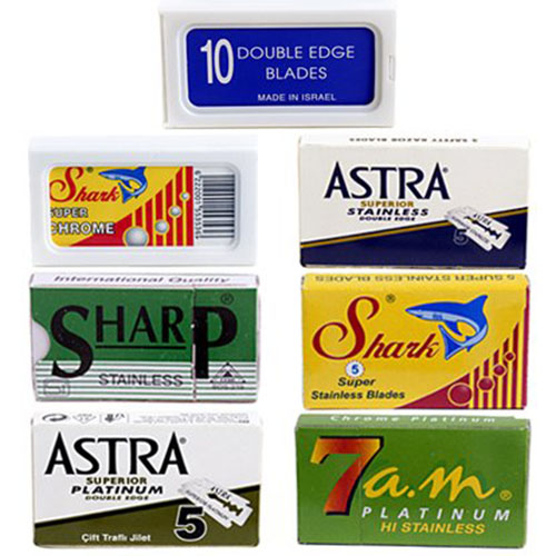 #5. Double Edge Safety Razor Blade, Variety Pack