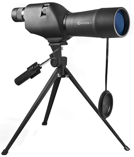 3. BARSKA Waterproof Straight Spotting Scope