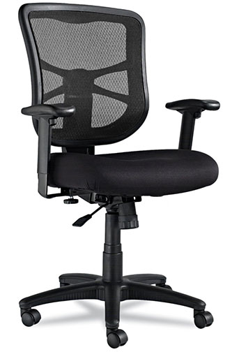 2. Alera Elusion Mid-Back Swivel Chair