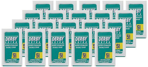 #3. Derby Double Edge Razor Blades