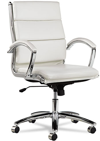 3. Alera Mid-Back Swivel Tilt Chair
