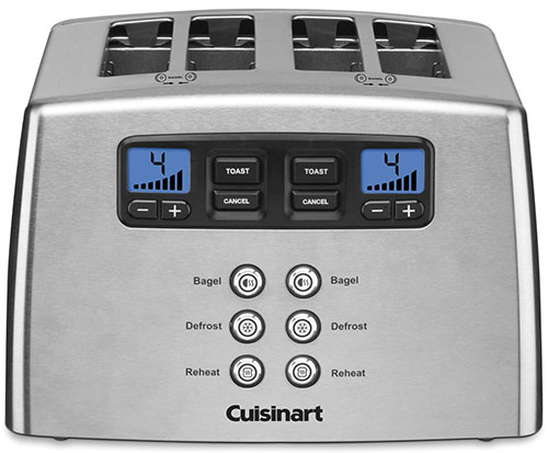 5. Cuisinart Touch to Toast 4-Slice Toaster