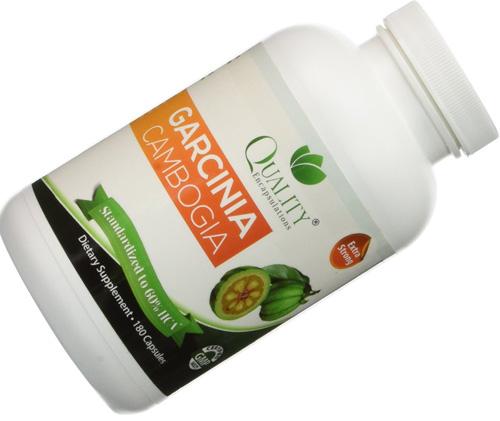 1. 100% Pure Garcinia Cambogia Extract