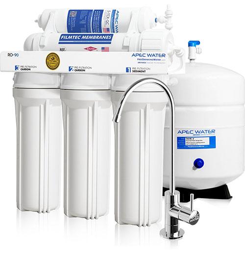 3. High-Flow 90 GPD Reverse Osmosis