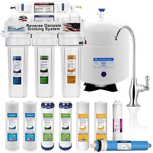 5. 5 -Stage Home Drinking Reverse Osmosis System
