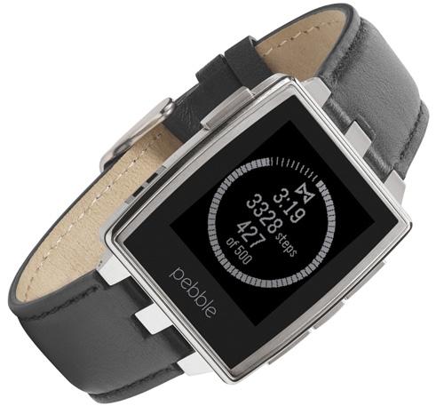 5. Pebble Steel Smartwatch