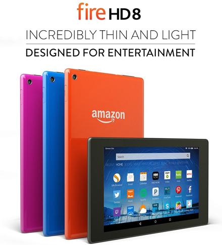 2. Fire HD 8 Tablet 8