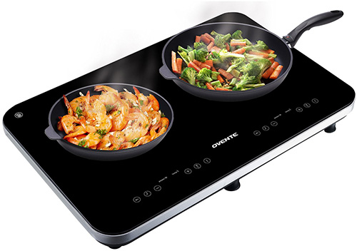 4. Ovente Cool Touch Portable Induction Cooktop