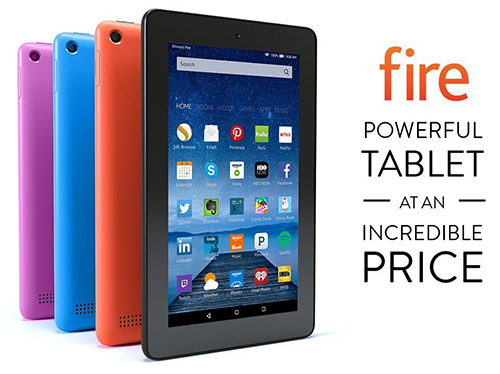1. Fire Tablet 7