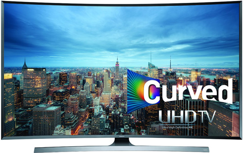 5. Samsung Curved 40-Inch 4K Ultra Smart TV