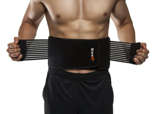 5. BraceUP Stabilizing Lumbar Lower Back Brace and Support