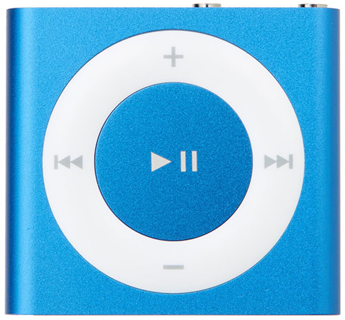 #3. Apple MKME2LL/A iPod Shuffle 2GB, Bluehttp