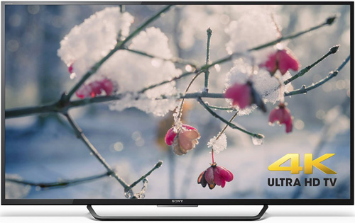 3. Sony 4K Ultra HD Smart LED