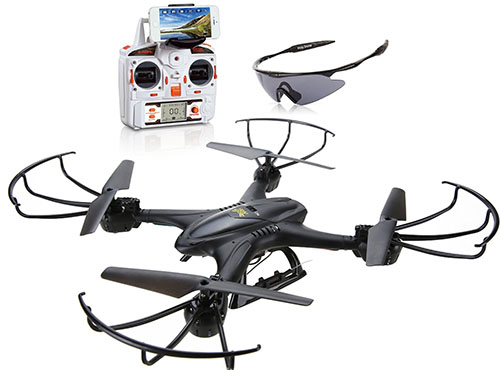 1. Holy Stone X400C FPV RC Quadcopter Drone
