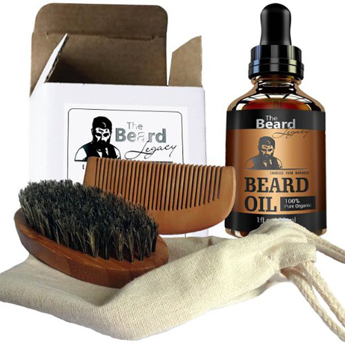 1. The Beardsley in the Box Beard Care , Best Beard Grooming Kits In 2018 Reviews