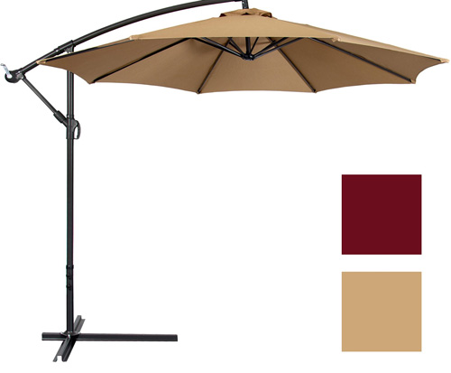 New Tan Patio Umbrella