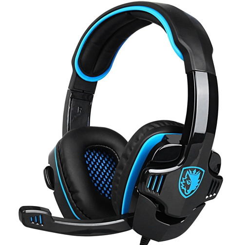 5. SADES Stereo Gaming Headset