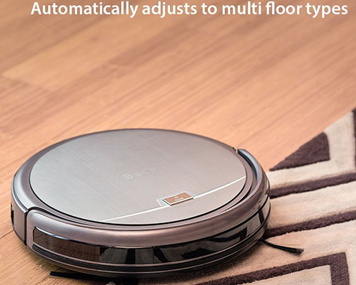 #3. ILIFE A4 Robot Vacuum Cleaner