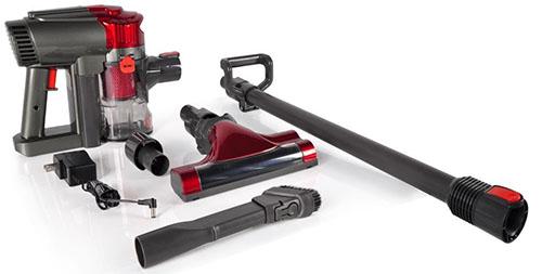 #4. Pure Clean Handheld Cyclone Vacuum Cleaner
