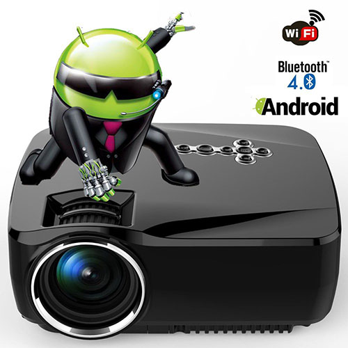 5. Android WiFi Bluetooth Projector