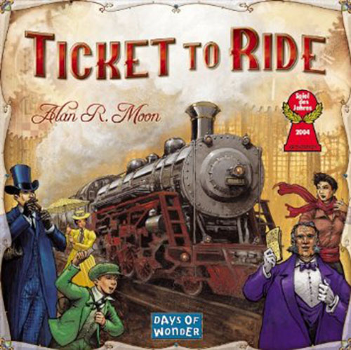 7. Ticket To Ride