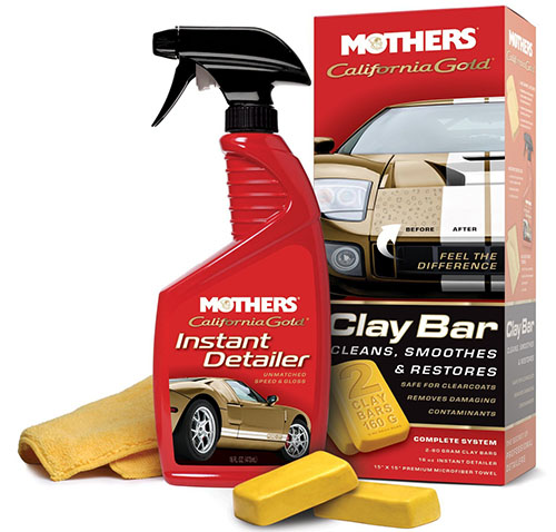 3. Mothers Gold Clay Bar System