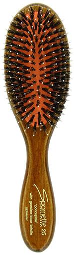 2. Brush with Genuine Boar Bristle