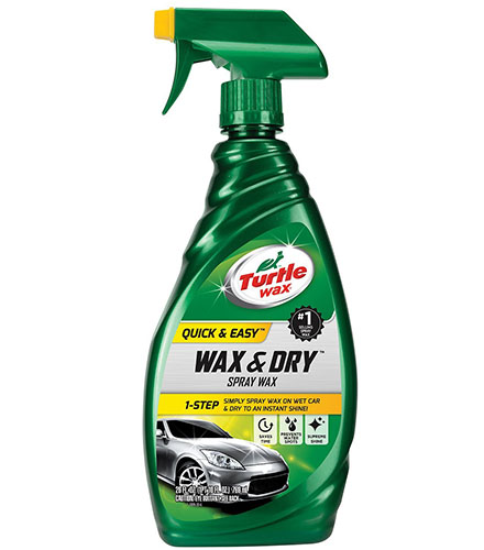 4. Turtle Wax T-9 1-Step Wax & Dry