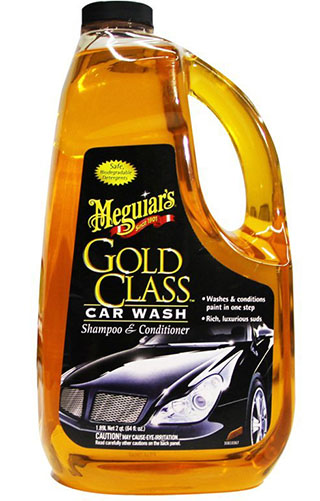 1. Gold Class Car Wash Shampoo and Conditioner