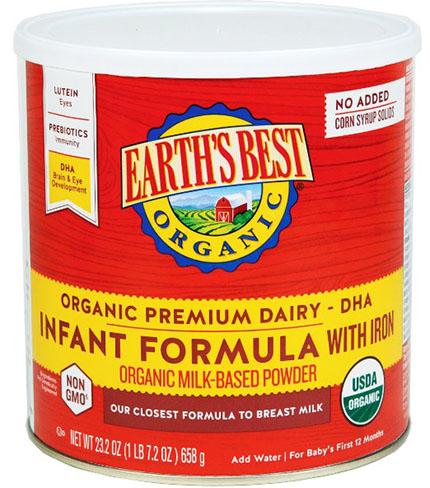 2. Infant Formula with Iron