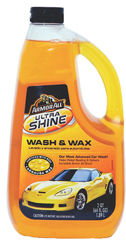 3. Armor All ultra Shine Wash and Wax