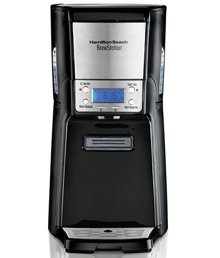 3.Hamilton Beach 12-Cup Coffee Maker, Programmable Brewstation Summit Dispensing Coffee Machine