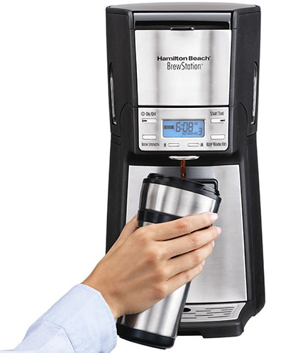 4. Hamilton Beach 12-Cup Coffee Maker, Programmable Brewstation Dispensing Coffee Machine, Summit Ultra