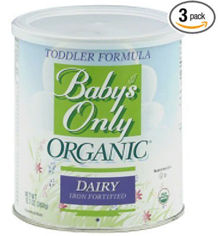 7. Only Organic Toddler Formula