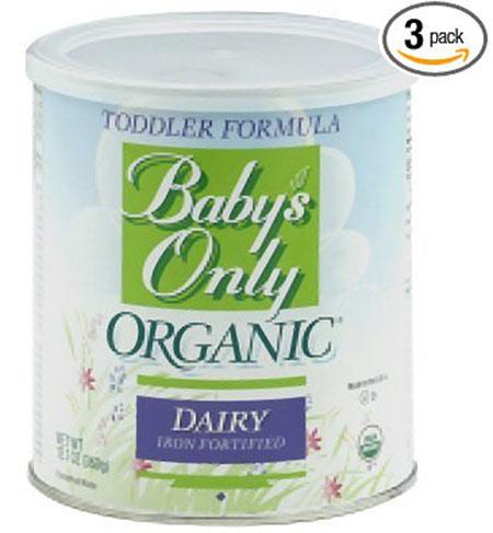 7. Only Organic Toddler Formula