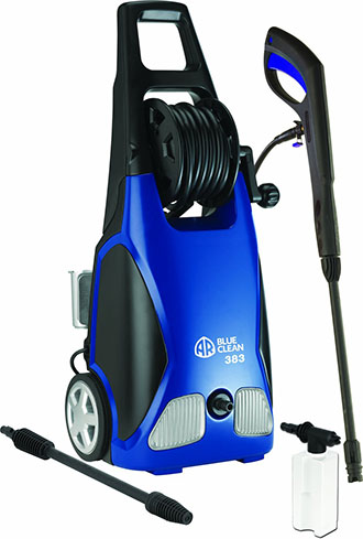 3. AR Blue Clean 1900 PSI Electric Pressure Washer with Spray Gun