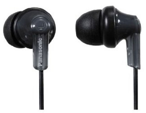 1. Panasonic ErgoFit Best in Class In-Ear Earbud Headphones