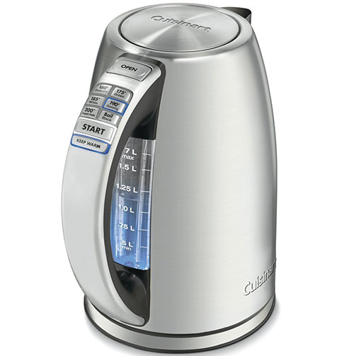 4. Cuisinart CPK-17 PerfecTemp Stainless Steel Cordless Electric