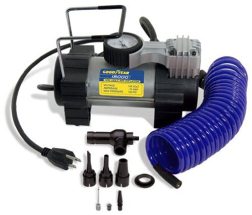 1. 120-Volt Direct Drive Tire Inflator