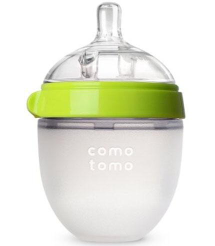 1. Comotomo Natural Feel Baby Bottle